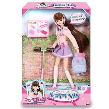 Seventeen MIMI Kickboard Korean Barbie Doll Character Figure Fairy toy girl