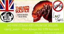 The Red Solstice Steam key NO VPN Region Free UK Seller