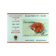 LES CATALOGUES PANHARD & LEVASSOR 1891-1967, FLAT-TWIN N° 116 - MAGAZINE NEUF