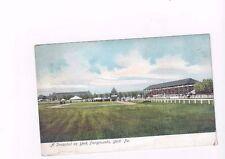 PA York Pennsylvania antique udb post card Racetrack on York Fairgrounds