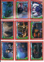 1991 Topps Teenage Mutant Ninja Turtles II Secret of the Ooze trading cards
