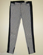 """BEAUTIFUL SASS&BIDE MULTI PRINT SKINNY FIT JEANS 29 """"NOW IS NOW"""" Freetown"""