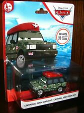 CARS 2 - CORPORAL JOSH COOLANT - Mattel Disney Pixar DELUXE CHASE