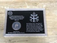 Pope John Paul II 2 Visit To GB 1982 Commemorative Medal Coin