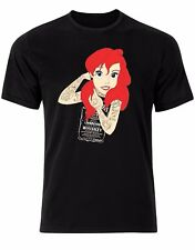 Ariel Indie Tatoo Punk Gothic Swag Style Retro Vinatge Mens Tshirt Tee Top AL49