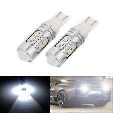 2X 1200 Lumens T10 921 10W 10SMD 2323 LED Projector Reverse Backup Light Bulb