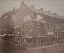 CIVIL WAR RECONSTRUCTION ERA AMERICAN CAMPAIGN FLAG SHIP BROKER BOSTON MA PHOTO