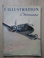 REVUE L' ILLUSTRATION 1938 Nr 4994 L'aeronautique Aviation