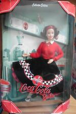 NEUF - Barbie Coca Cola Collection Diner Fast-food 1999 Mattel Collector