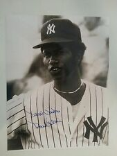 Paul Blair and Dell Alston 1977-78 Yankees 13 total in person Autographs