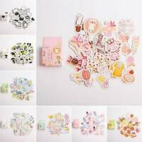 40PCS/Box Stickers Kawaii DIY Scrapbooking Diary Label Stickers Stationery New