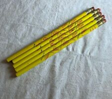 5 Vintage wooden pencil ARTIES POP CORN Potato Chips unused new old stock N