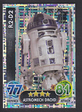 Topps Star Wars - Force Attax The Force Awakens # 201 R2-D2 - Holographic