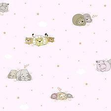 Rasch Textil bimbaloo 2 804637 Tapicería para autocosido Animal León Elefante