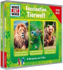 WAS IST WAS Fazination Tierwelt 3er Hörspielbox