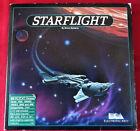 Starflight ~ Electronic Arts Computer Game ~ Ibm Campatible Pcs & Tandy~1986 Vtg