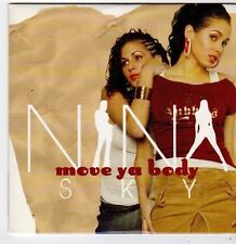 (FG987) Nina Sky, Move Ya Body - 2004 DJ CD