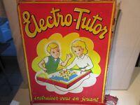 JOUET ELECTRO TUTOR CITROEN DS 19 -1960 - ORIGINAL - JOUET ANCIEN