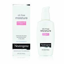 2 Pack Neutrogena Oil-Free Moisture Combination Skin 4 oz Each