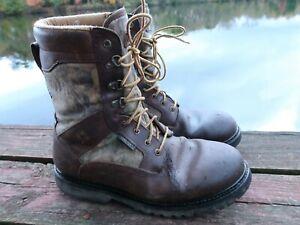 Rocky 9178 Goretex Boots Camo Hunting Men's 12M 800 Grams Thinsulate