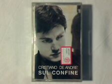 CRISTIANO DE ANDRE' Sul confine mc cassette k7 SIGILLATA SEALED!!!