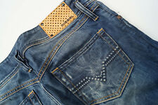 Diesel Matic Jeans Femmes Pantalon Stretch Hanche Taille 28 w28 Stone Wash 008sv Used L #98