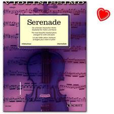 Serenade klassische Werke für Violine Klavier Violinissimo mittelschwer