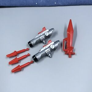 Transformers G1 Swoop Missile Launchers 3 Missiles and Sword Part Accessories