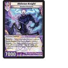 Kaijudo X3 OBLIVION KNIGHT Rare #81/160 13GAU (Playset) Quest for the Gauntlet