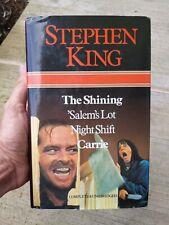 Stephen King HCDJ Omnibus The Shining, Carrie, 'Salem's Lot, Night Shift salems