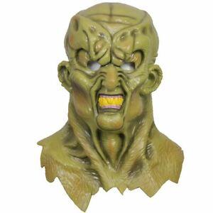 Xcoser Haunted Latex Mask Goosebumps Helmet Cosplay Full Head Green Props Adults