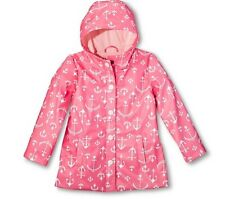 Cherokee Toddler Girls' Anchor Hoodie Raincoat Pink Size 12M