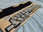 Pro Armstrong Flute Heritage II 55B Sterling Silver, Open Hole, Low B, New Case