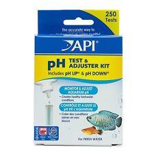 API AQUARIUM  FRESHWATER PH TEST & ADJUSTER KIT DELUXE  FREE SHIPPING