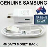 Genuine USB Cable+ Generic 2A Charger for Samsung Galaxy Tab 3 S4 S3 Note 2