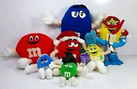 7 M&M Plush Various Sizes Used Small Issues