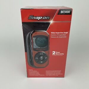 Snap-on Tools BK3000 Video Inspection Scope - New Sealed In Box - Hand Held