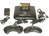 Sega Genesis Console Bundle 2 Controllers Cables