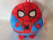 Beanie Ballz Marvel Spiderman Bean Mini Ball Plush Key Chain Clip On Plush Doll