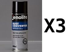 Jenolite 400ml Rust Converter Spray Can - a Rust Remover With No Primer Required
