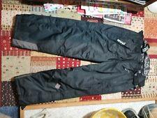 / MENS XXL SNOWBOARD PANTS // SALOPETTES // Black // Original Pirate Material /