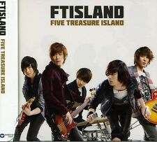 FT Island, Ftisland - Five Treasure Island (Japan Album) (Version a) [New CD] Ho