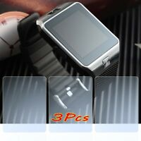 3Pcs For DZ09 Smart Watch Screen Protector Case Cover