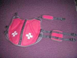 Small Dog Red Flotation Vest w/Rescue Handle