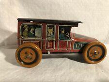 J Chein Limousine Auto Circa 1918 Tin Toy Car