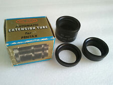 Classic SLR Automatic Macro Extension Tubes for Pentax Screw Fit PSL-AICO Japan