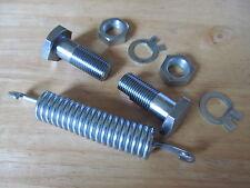 99-9950 1960 -62 TRIUMPH 6T T110 T120 TR6 Patín central Primavera y perno kit de fijación