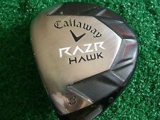 Callaway RAZR Hawk Men's left hand 15* #3 Fairway Wood stock graphite R-flex