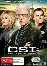 CSI - Crime Scene Investigation Series : Season 13 : NEW DVD