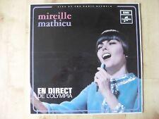 Mireille Mathieu En Direct De L'Olympia 1968 LP Vinyl Record